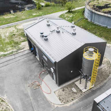 Reconstruction and expansion of the wastewater treatment plant in Otwock – task I