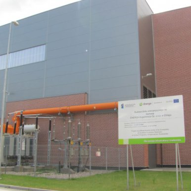 The biomass-fuelled energy-production unit with the capacity of 20 MWe for ENERGA Kogeneracja in Elbląg.