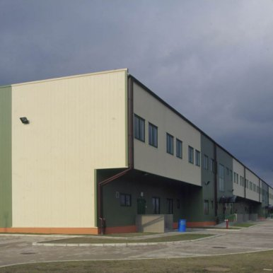 Warehouse and office hall centre OLMAR in Piaseczno near Warsaw