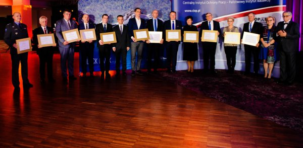 Gold Award of Safe Work Leaders once again for Mostostal Warszawa