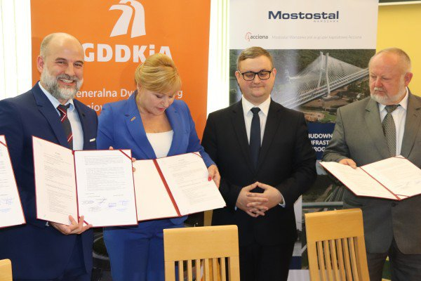 Mostostal Warszawa contracted for the construction of the Praszka bypass within DK45