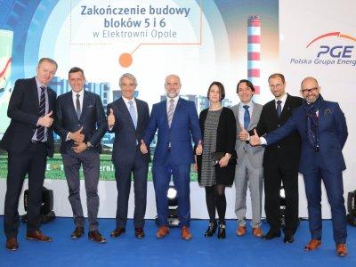 Mostostal Warszawa has completed the construction of the largest energy investment in Poland since 1989 for PGE