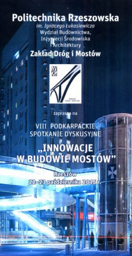Mostostal Warszawa: Headline Sponsor for the Conference Innovations in Bridge Construction