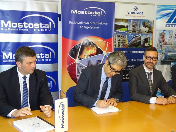 Mostostal Warszawa SA contracts delivery of 29 000-ton steel structure to build power units in Opole!