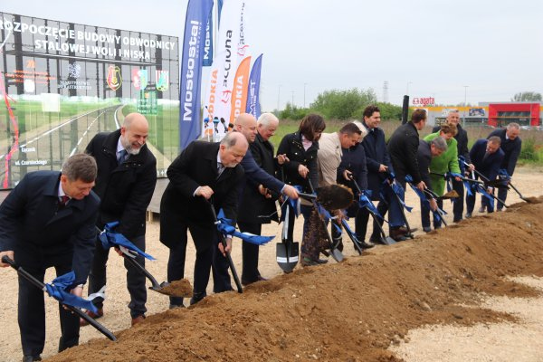 The construction of the Stalowa Wola and Nisko beltway has begun