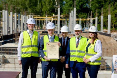 The foundation act for the construction of a primary school in Wilanów, Warsaw has been signed!
