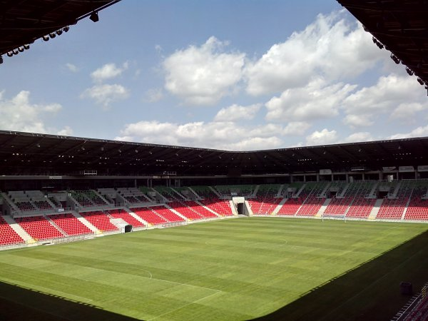 Tychy City Stadium now open! Another project completed by Mostostal Warszawa!