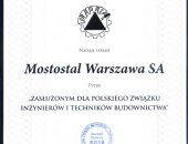 Merit for the Polish Association of Engineering and Construction Technicians 2014