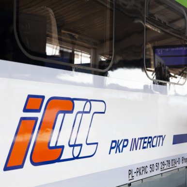 Pro-ecological PKP Intercity wash in Wrocław